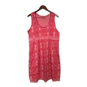 Athleta Vyasa Dress Pink Boho Plus Size 1X NWT